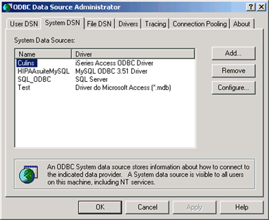 how to connect odbc to access database